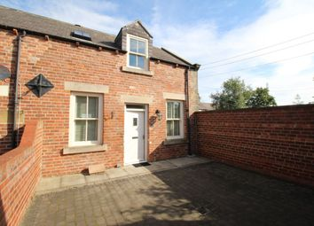 Thumbnail 2 bed terraced house for sale in Church Road, Backworth, Newcastle Upon Tyne