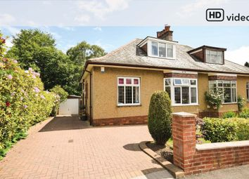 Thumbnail 3 bed semi-detached bungalow for sale in Netherview Road, Glasgow