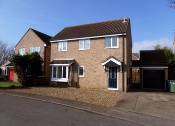 Thumbnail 3 bedroom detached house to rent in Orwell Close, St. Ives, Huntingdon