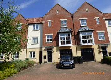 Thumbnail 4 bed town house to rent in Trafalgar Square, Poringland, Norwich