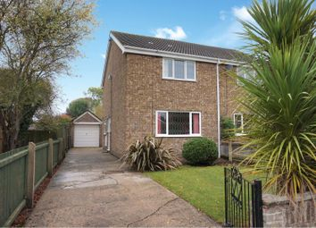 Thumbnail 2 bed semi-detached house for sale in Stoney Way, Tetney, Grimsby