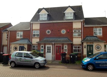 Thumbnail 4 bedroom town house for sale in Voce Gardens, Hucknall, Nottingham