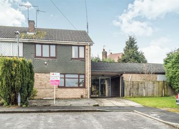 Thumbnail 3 bed semi-detached house for sale in Brackendale Drive, Nuneaton