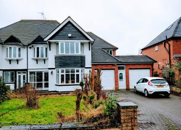 Thumbnail 4 bed semi-detached house for sale in Croftdown Road, Harborne, Birmingham