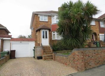 Thumbnail 3 bed semi-detached house for sale in Madeira Drive, Hastings, East Sussex