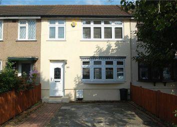 Thumbnail 3 bed terraced house for sale in Rosebank Avenue, Hornchurch
