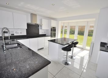 Thumbnail 5 bed detached house to rent in Harlestone Manor, Northampton