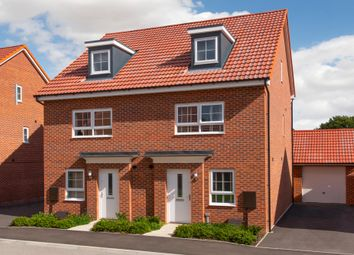"Thumbnail 3 bed end terrace house for sale in ""Kingsville"" at Station Road, Methley, Leeds"