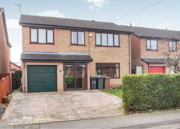 Thumbnail 4 bed detached house for sale in Beech Road, Branston