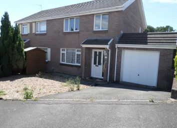 Thumbnail 3 bed semi-detached house to rent in Springfield Gardens, Bridgend