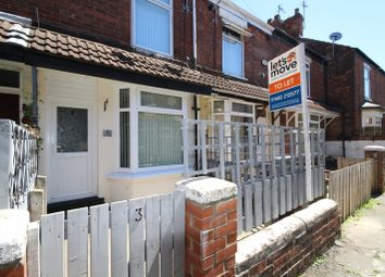 Thumbnail 2 bed terraced house to rent in Floral Ave, Rensburg St, Hull