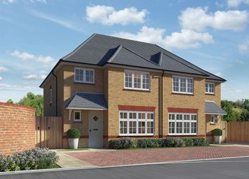 "Thumbnail 3 bed semi-detached house for sale in ""Ludlow"" at Roman Way, Rochester"
