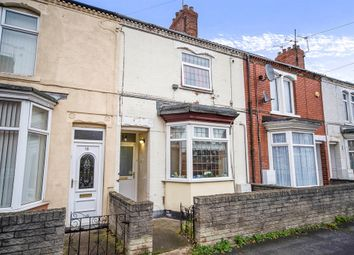 Thumbnail 3 bed terraced house for sale in Sheffield Street, Scunthorpe
