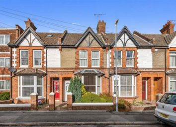 Thumbnail 3 bed terraced house for sale in Lower Queens Road, Ashford, Kent