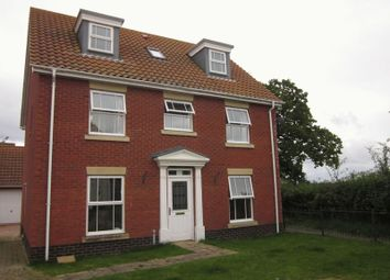 Thumbnail 5 bedroom detached house to rent in Thornycroft Gardens, Carlton Colville, Lowestoft