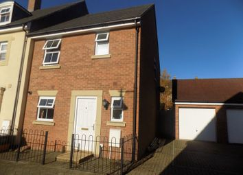 Thumbnail 3 bedroom end terrace house for sale in Horsley Close, Blunsdon, Swindon