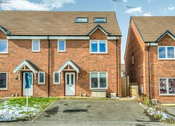 Thumbnail 4 bed semi-detached house for sale in Franklin Road, Whitnash, Leamington Spa, Warwickshire
