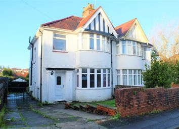 Thumbnail 3 bed property for sale in Raglan Road, Sketty, Swansea