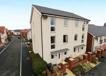 Thumbnail 3 bedroom town house for sale in Younghayes Road, Cranbrook, Exeter