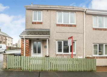 Thumbnail 3 bed end terrace house for sale in Lindow Street, Frizington, Cumbria