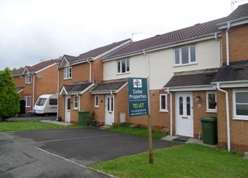 Thumbnail 2 bed terraced house to rent in 13 Coed Mieri, Pontyclun