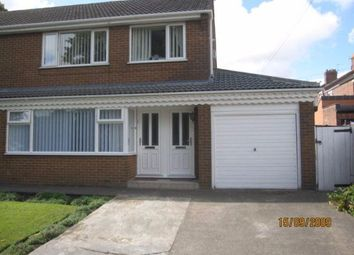 Thumbnail 1 bed flat to rent in Woodlands Road, Bishop Auckland
