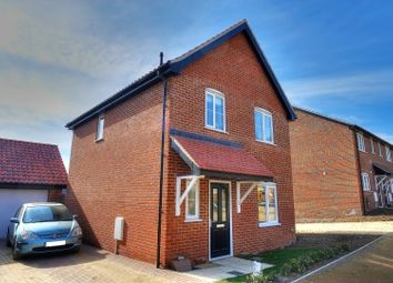 Thumbnail 3 bed detached house for sale in Kost Road, Costessey, Norwich