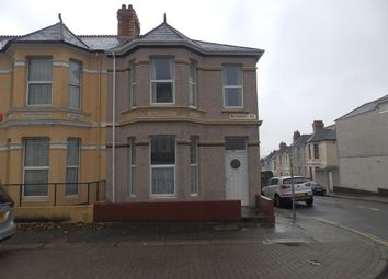 Thumbnail 1 bed flat to rent in Beaumont Road, St. Judes, Plymouth