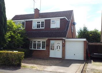 Thumbnail 3 bed semi-detached house for sale in Weatherby, Dunstable, Bedfordshire, England