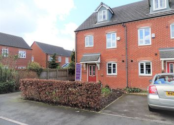 Thumbnail 3 bed town house for sale in North Dene Park, Chadderton, Oldham