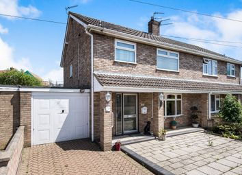 Thumbnail 3 bed semi-detached house for sale in Eversley Road, Hellesdon, Norwich