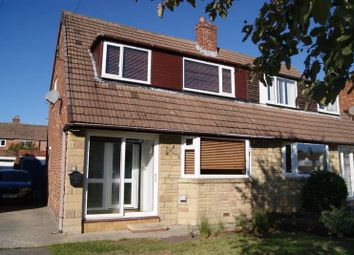 Thumbnail 3 bed semi-detached house for sale in Grampian Place, West Moor, Newcastle Upon Tyne