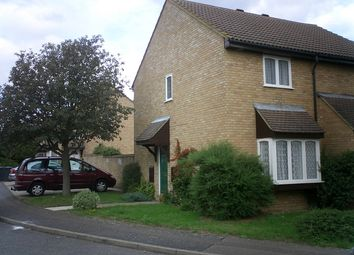 Thumbnail 2 bedroom end terrace house to rent in The Rowans, Milton, Cambridge