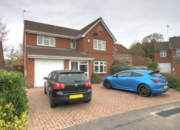 Thumbnail 4 bed detached house for sale in Astill Close, Ratby, Leicester