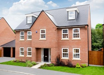 "Thumbnail 5 bed detached house for sale in ""Lichfield"" at Whites Lane, New Duston, Northampton"