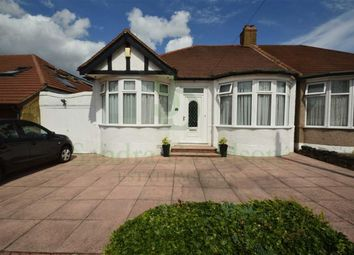 Thumbnail 2 bedroom semi-detached bungalow for sale in Leigh Avenue, Redbridge, Essex