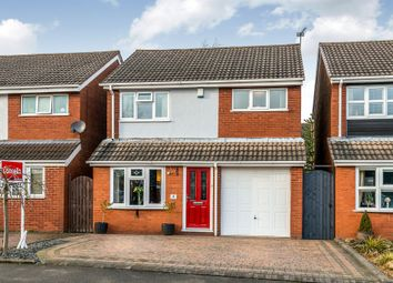Thumbnail 3 bed detached house for sale in Pinfold Lane, Cheslyn Hay, Walsall