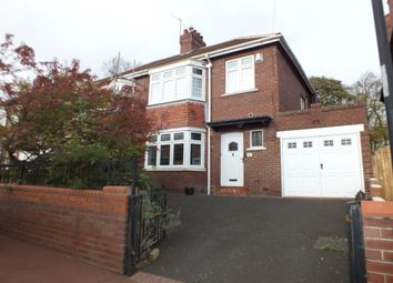 Thumbnail 3 bedroom semi-detached house for sale in Kirton Avenue, Fenham, Newcastle Upon Tyne