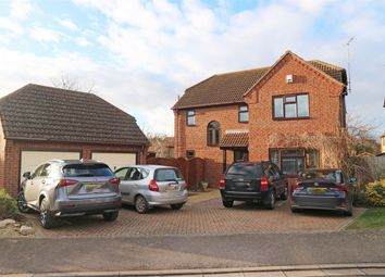 Thumbnail 4 bed detached house for sale in Aquila Way, Langtoft, Peterborough, Lincolnshire