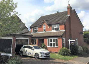 Thumbnail 4 bedroom detached house for sale in Gunnersbury Way, Nuthall, Nottingham