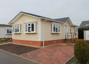 Thumbnail 2 bed mobile/park home for sale in Waveney Park, Stuston Road, Diss