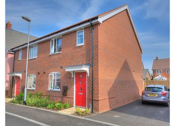 Thumbnail 3 bedroom semi-detached house for sale in Elm Street, Dereham