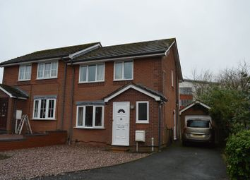 Thumbnail 3 bedroom semi-detached house for sale in Trevithick Close, Madeley, Telford, Shropshire.