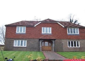 Thumbnail 4 bed detached house to rent in Wadhurst Road, Mark Cross, Crowborough