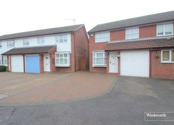 Thumbnail 3 bedroom semi-detached house for sale in St. Neots Close, Borehamwood, Hertfordshire