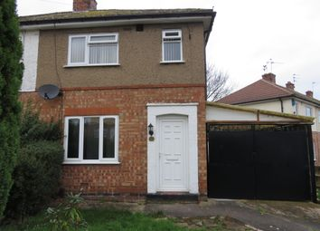 Thumbnail 2 bed end terrace house to rent in Helena Crescent, Leicester