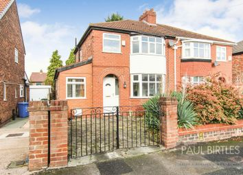 Thumbnail 3 bed semi-detached house to rent in Nursery Road, Davyhulme, Manchester