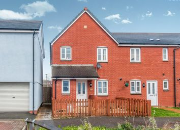 Thumbnail 3 bed end terrace house for sale in Chaucer Grove, Exeter