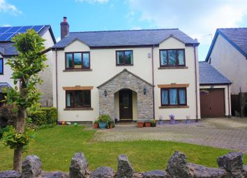 Thumbnail 5 bed detached house for sale in Garmon Court, Llanarmon-Yn-Ial