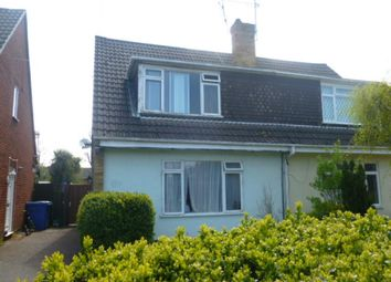 Thumbnail 3 bed semi-detached house to rent in Harvey Road, Farnborough